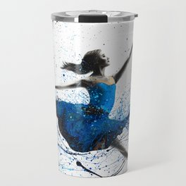 Blue Season Ballerina Travel Mug
