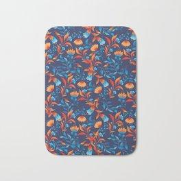 Animal and flowers pattern design Bath Mat