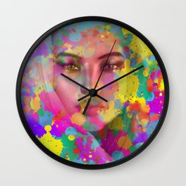Apparition of Beauty Wall Clock