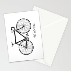 fixi no taxi Stationery Cards