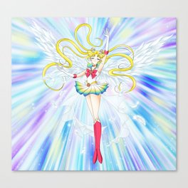 super sailor moon manga ver. Canvas Print