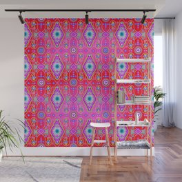 exotic happiness medallions Wall Mural