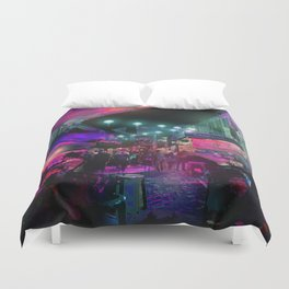 Tunes of the Night Duvet Cover