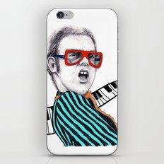 Vintage Elton - Analog Zine iPhone & iPod Skin
