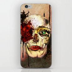 skull3 iPhone Skin