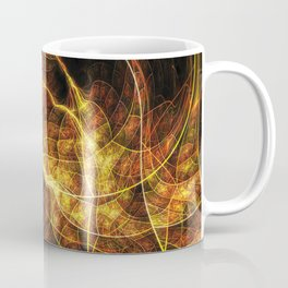 Fall Leaf Textures Coffee Mug