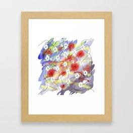 Interlinked Framed Art Print