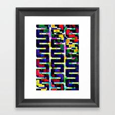 Rainbow Snake no.2 Framed Art Print
