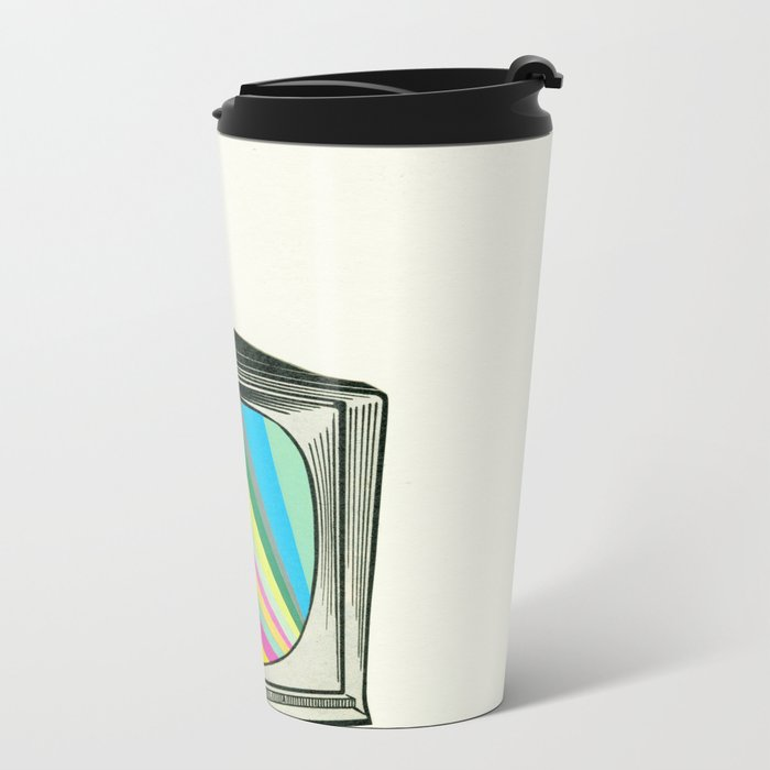 Your Programme Will Resume Shortly Metal Travel Mug