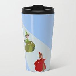 3 Fairies (Blue)  Travel Mug