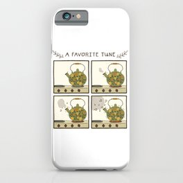 A Favorite Tune - Whistling Tea Kettle iPhone Case
