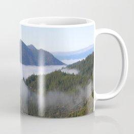 Misting fog in the mountains... Coffee Mug