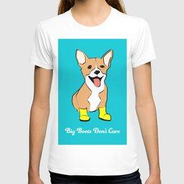Jello the Corgi, Big Boots Don't Care T-shirt