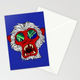 """""""Arctic Monkey"""" by Virginia McCarthy Stationery Cards"""