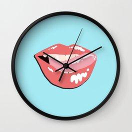 Mouth & Tongue Wall Clock