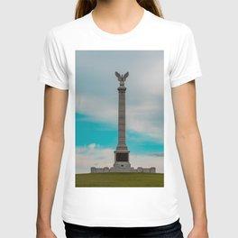 New York Monument Antietam Civil War Battlefield  near Sharspburg Maryland T-shirt