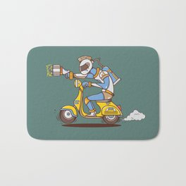 Space Scooterman Bath Mat