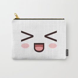 HAHAHA! Laughing Kawaii Face XD! Carry-All Pouch