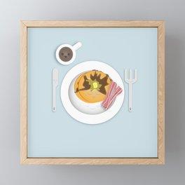 Breakfast Time! Framed Mini Art Print