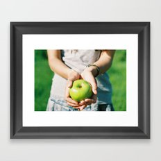 Organic Framed Art Print