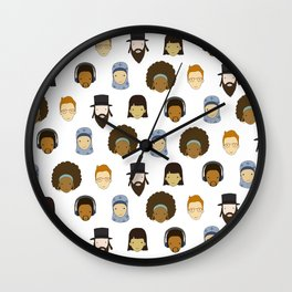 Headz Wall Clock