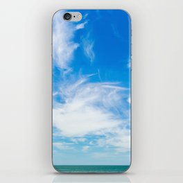 The Great Blue Sky iPhone Skin