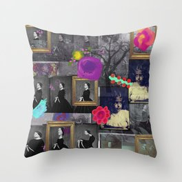 Mirror Room Throw Pillow