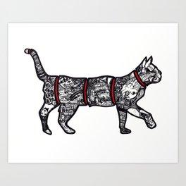 Catisfaction Art Print