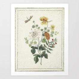 Machtelt Moninckx - Still life with flowers - 1600/1687 Art Print