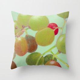 Grapes #8 Throw Pillow