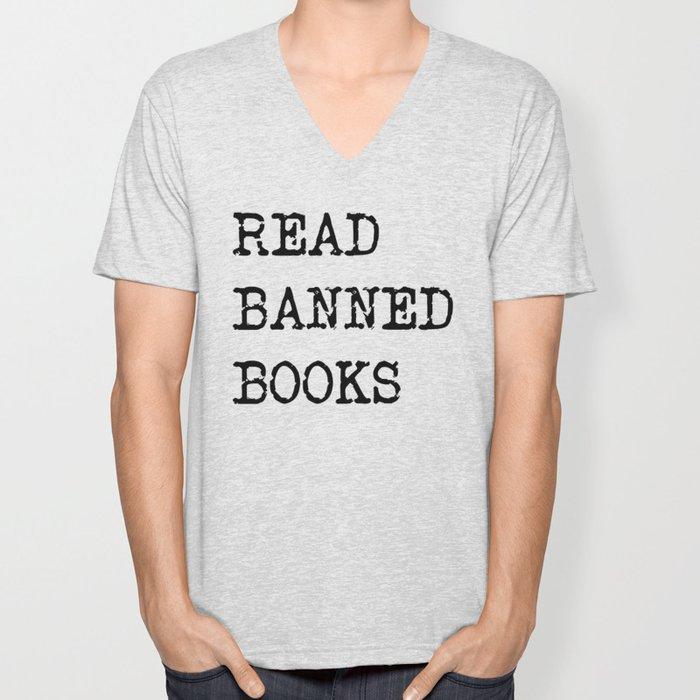 Read Banned Books Unisex V-Neck