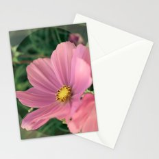 Wild flower in pink Stationery Cards