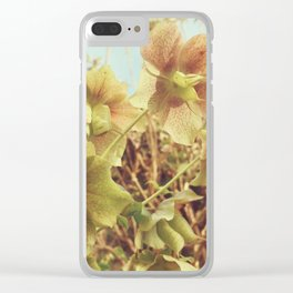 Spring Hellebore Clear iPhone Case