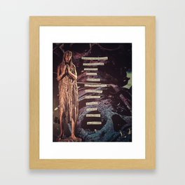 A Loving Prayer Framed Art Print
