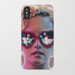 Electrick Girl iPhone Case