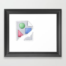Image Link Broken  Framed Art Print
