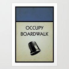 occupy boardwalk. Art Print