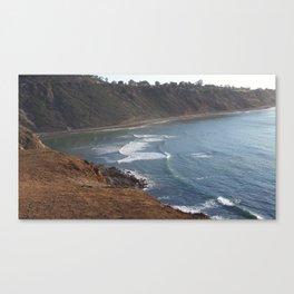 Pacific Ocean Palos Verdes California Canvas Print