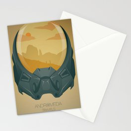 Andromeda Travels - Wasteland Stationery Cards
