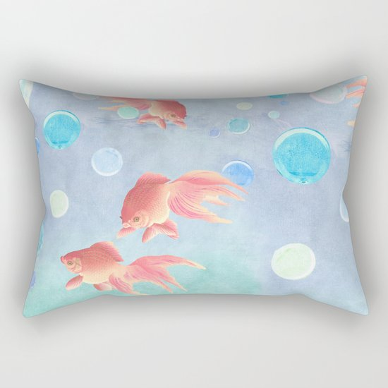 Around the bowl in Eighty seconds Rectangular Pillow