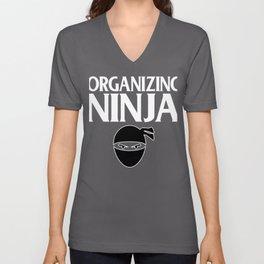 Organizing Ninja Unisex V-Neck