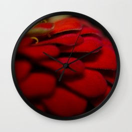 The Sultry Flower Wall Clock