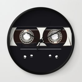 retro old tapes Wall Clock