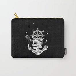 Master of my fate, captain of my soul Carry-All Pouch