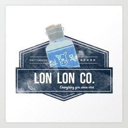 Lon Lon Co. Art Print