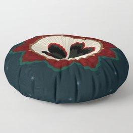 Butterfly goldfish Floor Pillow