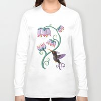 hummingbird Long Sleeve T-shirts featuring Hummingbird by Freeminds