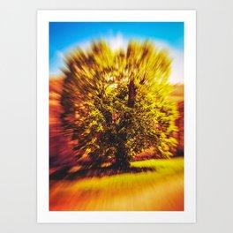 The Tree Of Autumn Art Print