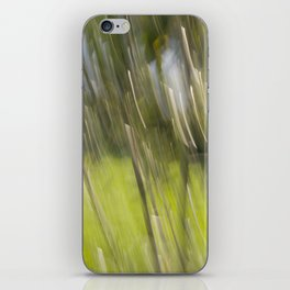 Light Forest Abstract iPhone Skin