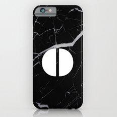 Black Marble - Alphabet O Slim Case iPhone 6s